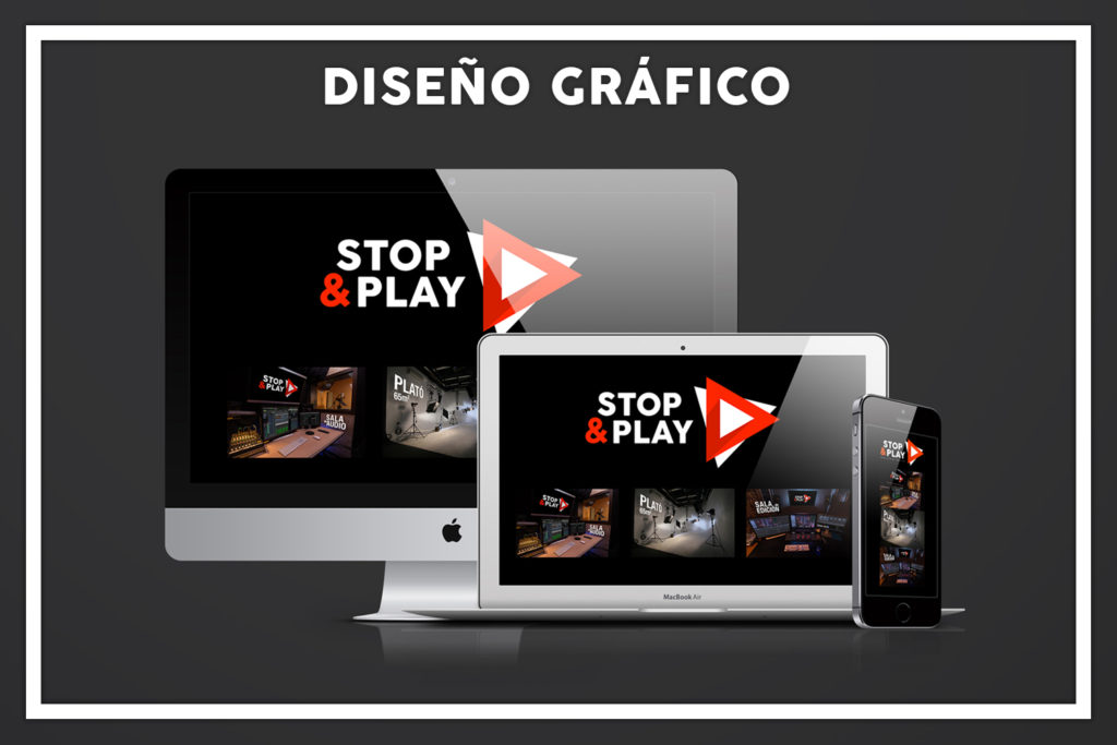 Diseño Gráfico Stop and Play